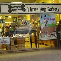Photo taken at Three Dog Bakery by Christ J. on 8/9/2012