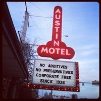 Photo taken at Austin Motel by Aparna M. on 3/15/2012
