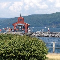 Photo taken at Seneca Harbor Station by Tandem C. on 7/8/2012