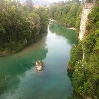 Photo taken at Ponte del Diavolo by Filo on 4/29/2012