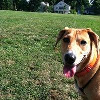 Photo taken at Rowayton Dog Park by Rachel B. on 7/8/2012
