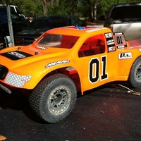Photo taken at Orange County RC Track by Wally P. on 3/15/2012
