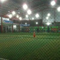 Photo taken at ASF ( Adi Sucipto Futsal) - Jl. Adi Sucipto by Muhammad Rezki on 9/1/2012