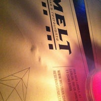 Photo taken at Melt by Adriana 🎵 F. on 4/7/2012