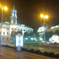 Снимок сделан в Центральная площадь пользователем Антон Ш. 8/21/2012
