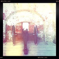 Photo taken at Fort Pulaski by Patrick Mccolgan on 7/6/2012
