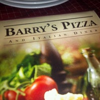 Photo taken at Barry's Pizza by Alexander G. on 8/5/2012