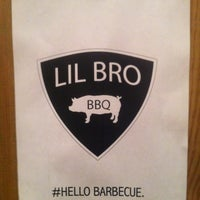 Photo taken at Little Brother BBQ by Ian Addison H. on 7/9/2012