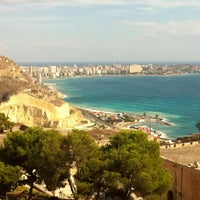 Photo taken at Alacant | Alicante by Lola B. on 2/12/2012
