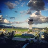Photo taken at Aeroporto de Joinville / Lauro Carneiro de Loyola (JOI) by Thiago K. on 5/18/2012