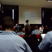 Photo taken at Centro Congressi Parma by Francesca P. on 4/22/2012