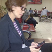 Photo taken at Boarding Gate Minangkabau Int. Airport by Andy W. on 7/23/2012