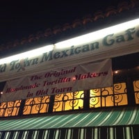 Photo taken at Old Town Mexican Cafe by Richarf S. on 2/29/2012
