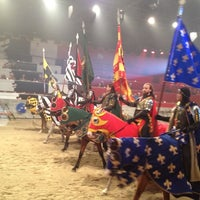 Photo taken at Medieval Times Dinner & Tournament by Kim C. on 8/28/2012