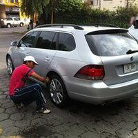 Photo taken at Autolavado Estrella by Esteban T. on 6/30/2012