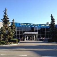 Foto diambil di Международный аэропорт Симферополь oleh Evgeny ❌. pada 7/9/2012