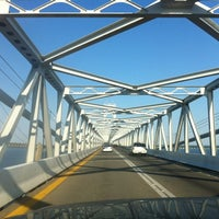 Photo taken at Chesapeake Bay Bridge by Craig N. on 6/9/2012