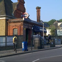Photo taken at Wimbledon Park London Underground Station by Rod S. on 7/26/2012
