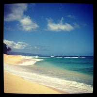Photo taken at North Shore by Daniela A. on 4/12/2012
