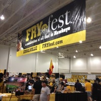 Photo taken at Fryfest by MaryKay B. on 9/7/2012