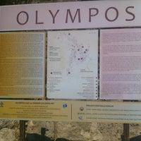 Photo taken at Olympos Plajı by £rgûn on 8/12/2012
