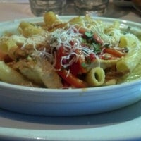 Photo taken at Romano's Macaroni Grill by Vicky T. on 9/2/2012
