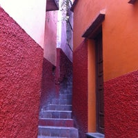 Photo taken at Callejón del Beso by Tannia H. on 8/4/2012