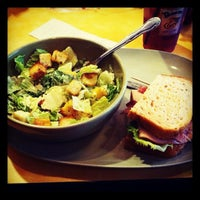 Photo taken at Panera Bread by Nini O. on 4/4/2012