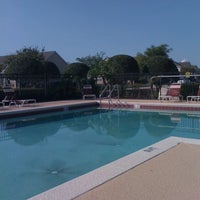 Photo taken at Avalon Park Pool At Tanja King & Anastasia by Jack K. on 3/15/2012