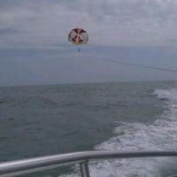 Photo taken at Daytona Beach Parasail by Renee S. on 3/24/2012