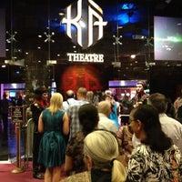Photo taken at KÀ Theatre by Lauren U. on 6/21/2012