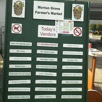 Photo taken at Morton Grove Farmers' Market by Abby Y. on 7/21/2012
