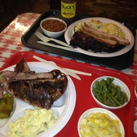 Photo taken at Black's Barbecue by Aaron S. on 6/20/2012