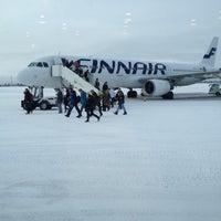 Photo taken at Kittilä Airport (KTT) by Manabu S. on 2/23/2012