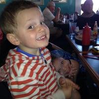 Photo taken at Happy Harbor Coffee & Creamery by Ellen S. on 4/4/2012
