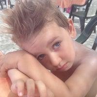 Photo taken at Bagno Delfino by Antonio P. on 7/1/2012