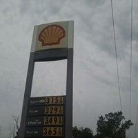 Photo taken at Shell by Jennifer P. on 6/4/2012