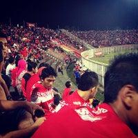 Photo taken at Stadium Sultan Muhammad IV by Miro R. on 6/29/2012