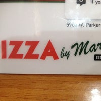 Photo taken at Pizza By Marco by Brett C. on 7/1/2012