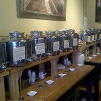 Photo taken at Liquid Gold Olive Oil Tasting Bar by Troy P. on 7/26/2012