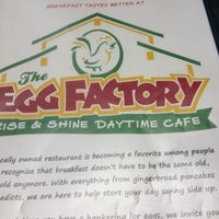 Photo taken at The Egg Factory by Lori B. on 4/29/2012