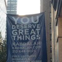 Photo taken at Kabbalah Centre by Michael C. on 7/9/2012