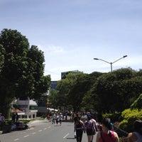 Photo taken at Ciclovía Avenida El Poblado by Pablo R. on 8/26/2012