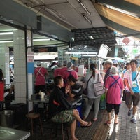 Photo taken at Kai Ton Pratunam (Go Arng) by Lek L. on 8/19/2012