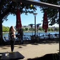 Photo taken at Den Franske Café by Ejal B. on 5/25/2012