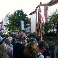 Photo taken at Marktplatz Höxter by Stefan K. on 7/7/2012