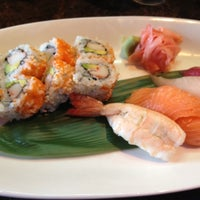 Photo taken at Sushi at The Lake by Katie K. on 8/21/2012