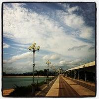 Photo taken at Sarasin Bridge by Hui T. on 6/17/2012