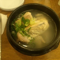 Photo taken at 명동삼계탕 by Sukang L. on 7/18/2012