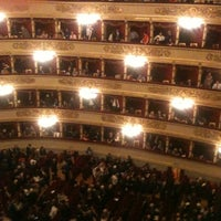 Photo taken at Teatro alla Scala by Bellina A. on 5/15/2012